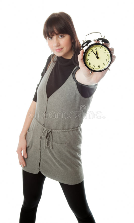 Download Temps photo stock. Image du coupure, isolement, brouillé - 8652128