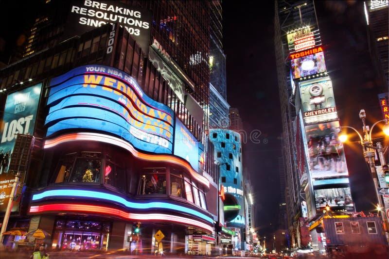 temps carrés de nuit photos stock