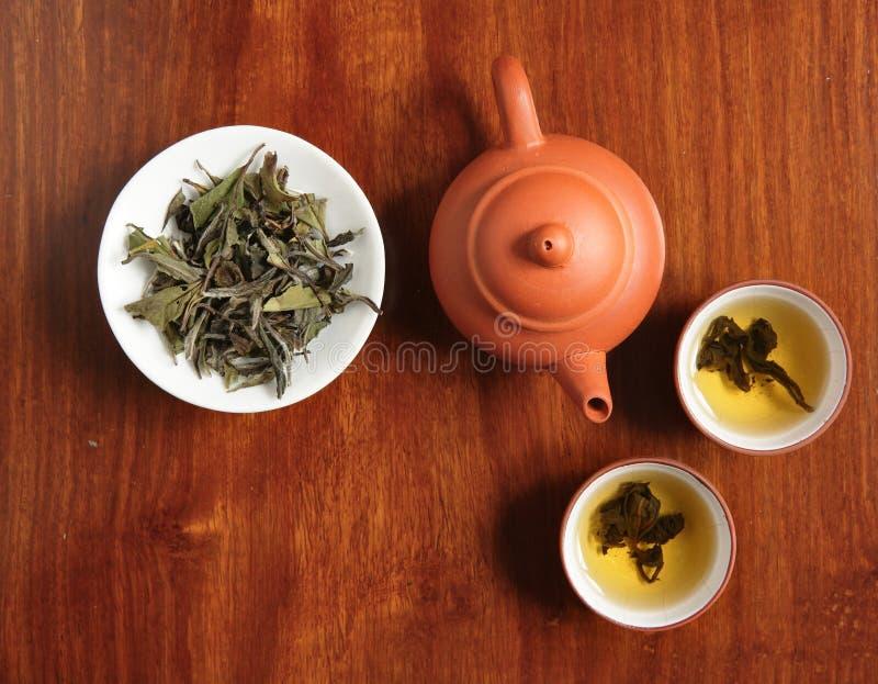 Temps chinois de thé images libres de droits