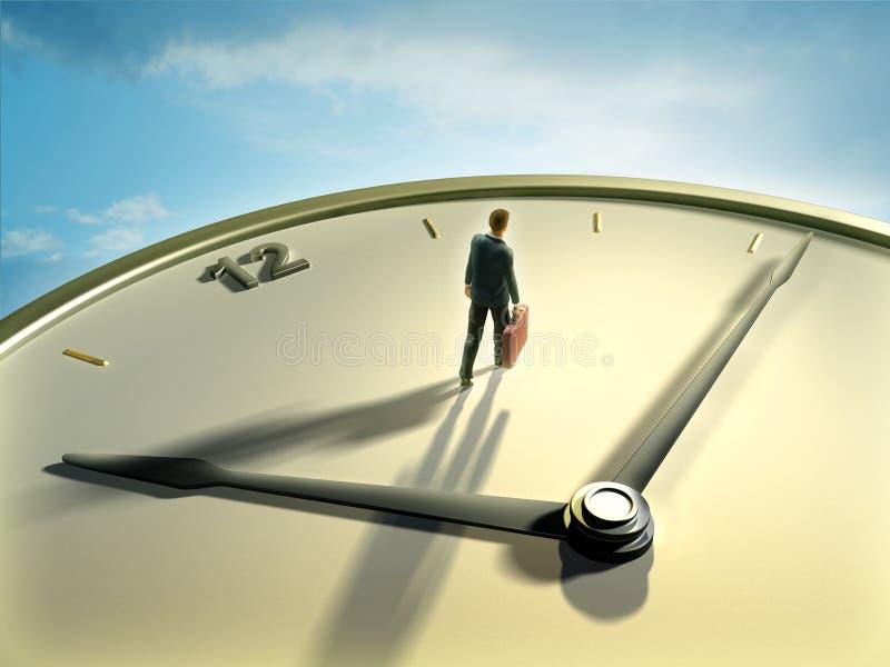 Temps d'affaires illustration libre de droits