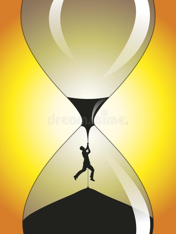 Temps d'expiration illustration stock