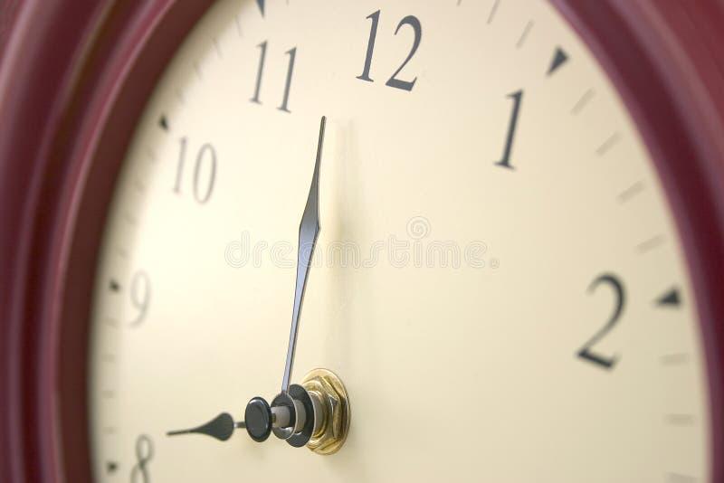 Temps d'horloge photographie stock