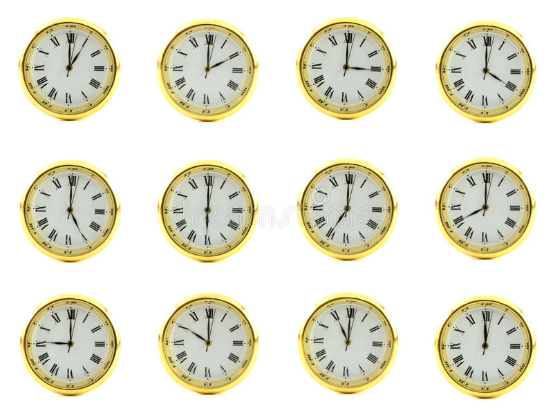 temps d'horloge image libre de droits