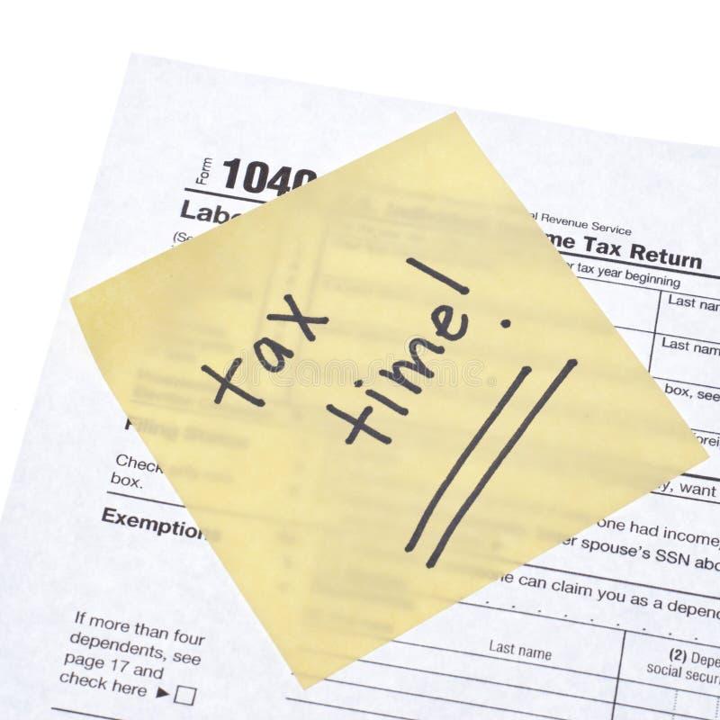 Temps D Impôts Image libre de droits