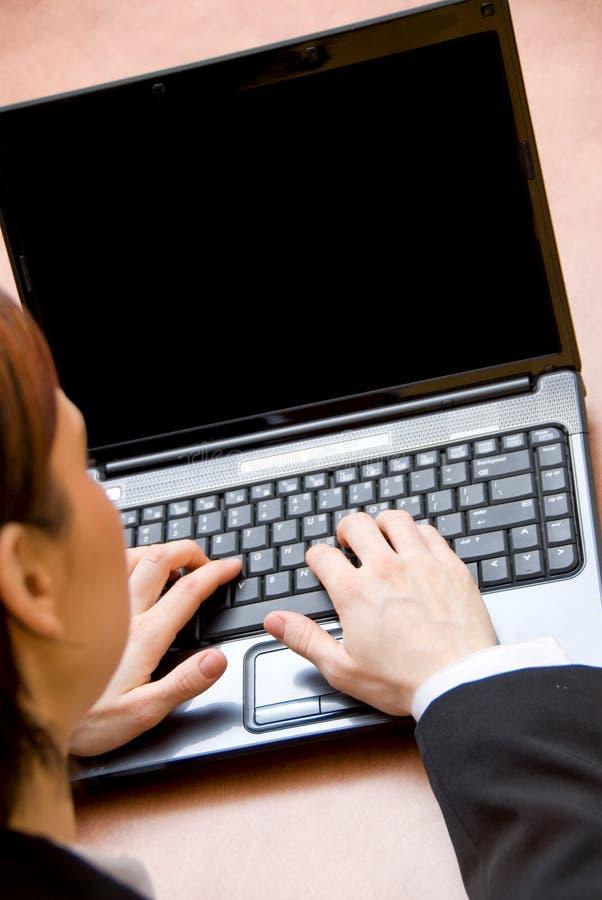 Temps d'ordinateur portatif images libres de droits