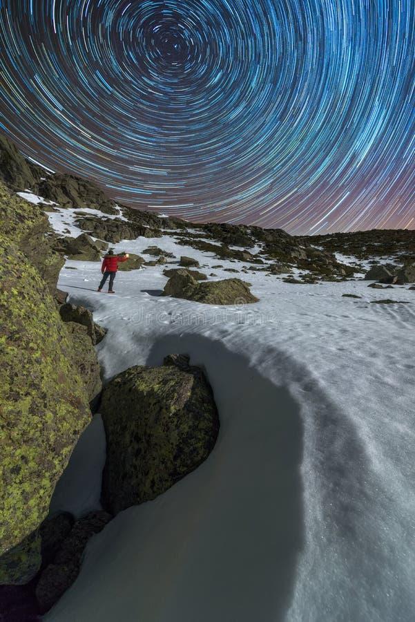 Temps dans la montagne photos libres de droits