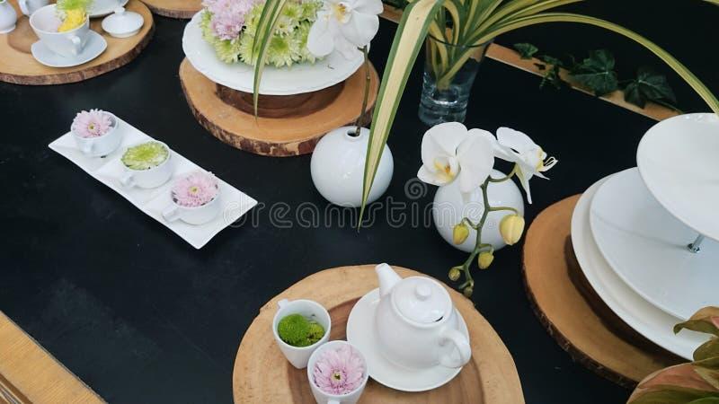 Temps de ‹de Tea†photos libres de droits