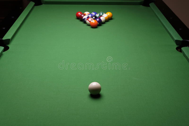 Temps de billard ! photos stock