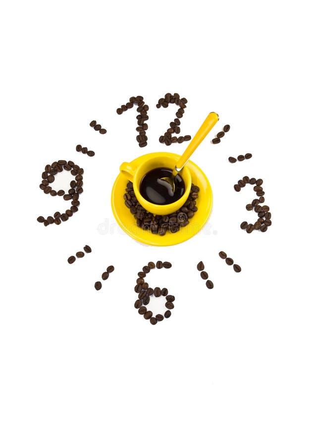 Temps de café photographie stock