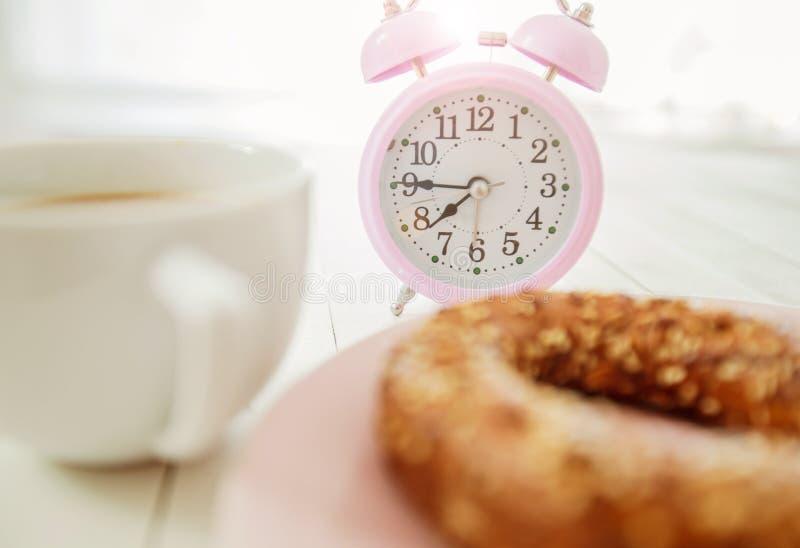 Temps de café de petit déjeuner photographie stock