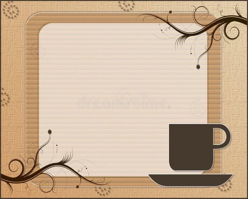 Temps de Coffe illustration de vecteur