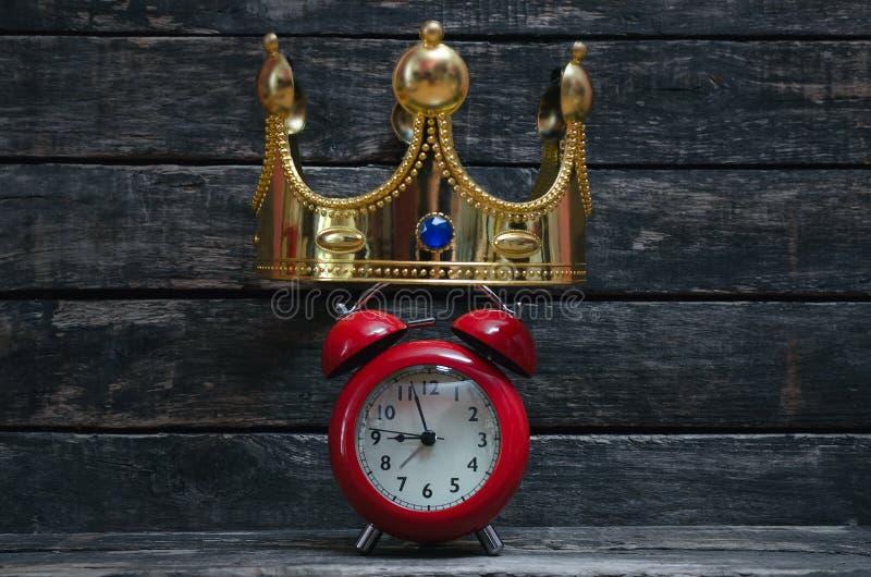Temps de couronnement images stock