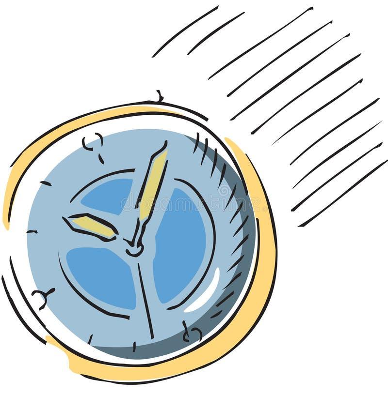 Temps de date-limite illustration de vecteur