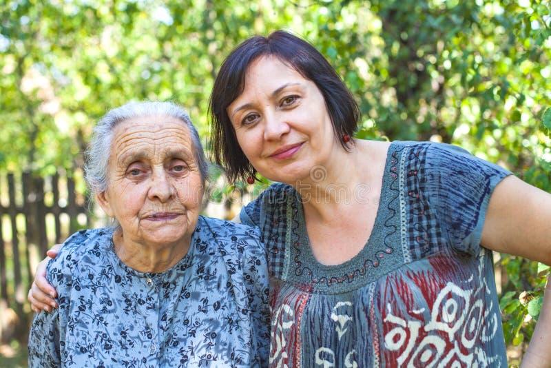 Temps de Familiy - vieillissant photos libres de droits