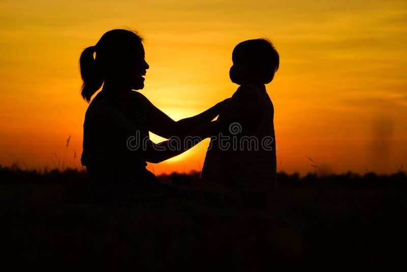 Temps de famille images libres de droits