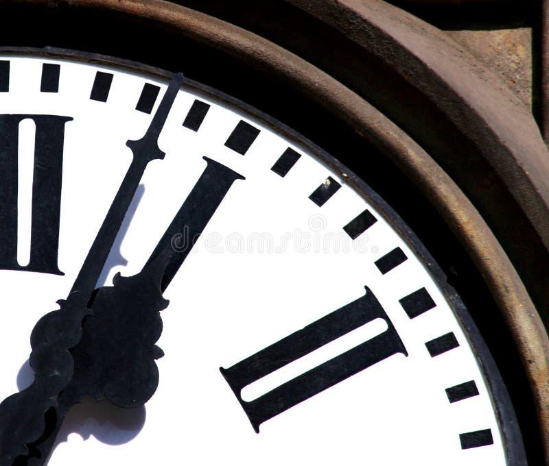 Temps de fonctionnement photo stock