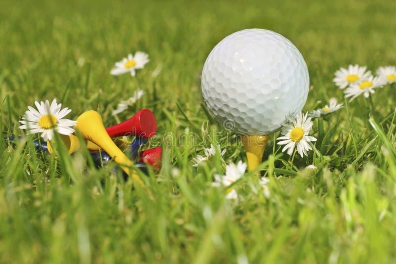 Temps de golf photo stock