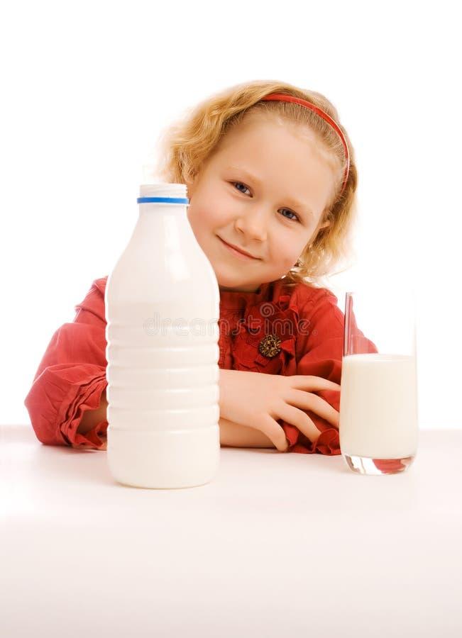 Temps de lait photographie stock