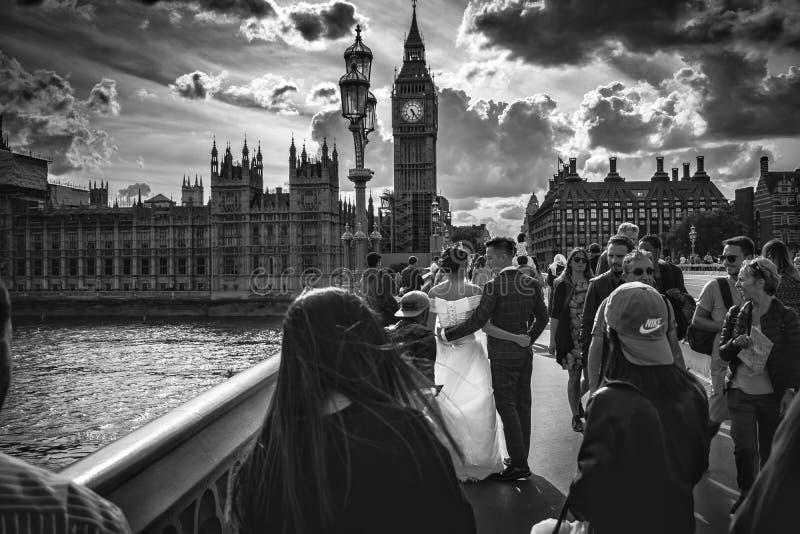 Temps de mariage photographie stock