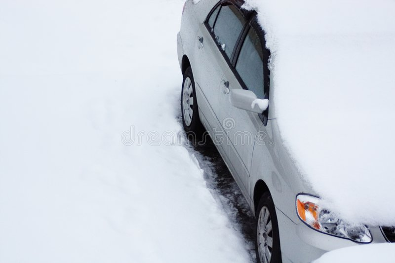 temps de neige image stock