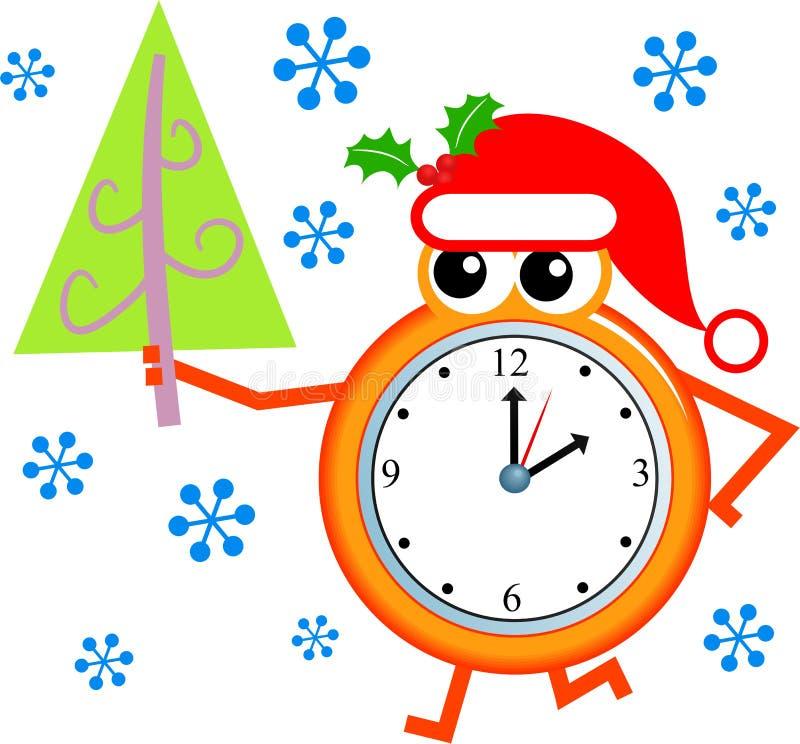Temps de Noël illustration de vecteur