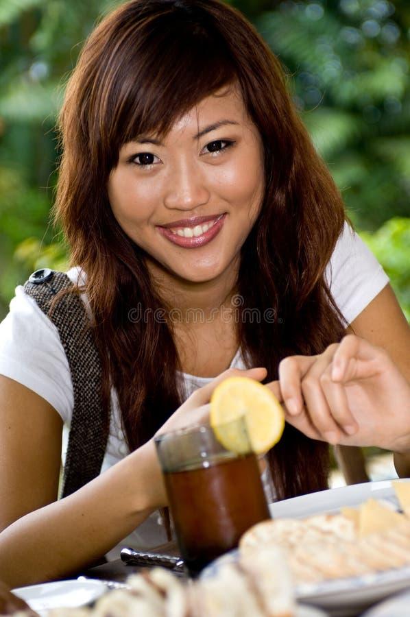 Temps de nourriture ! image stock