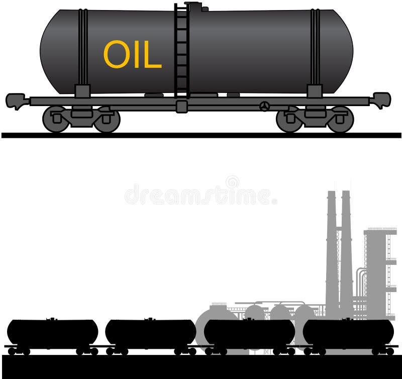 Temps de pétrole. illustration libre de droits