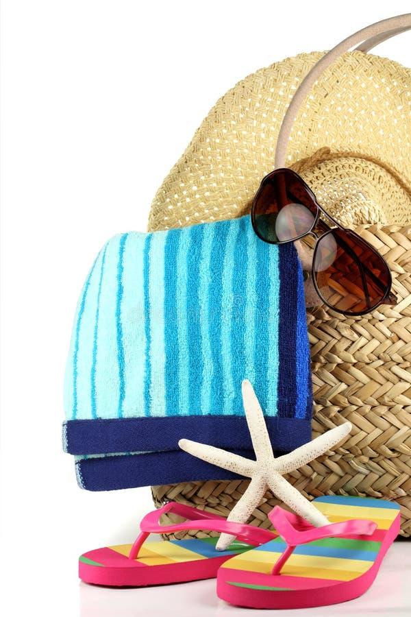 Temps de plage d'été photographie stock libre de droits