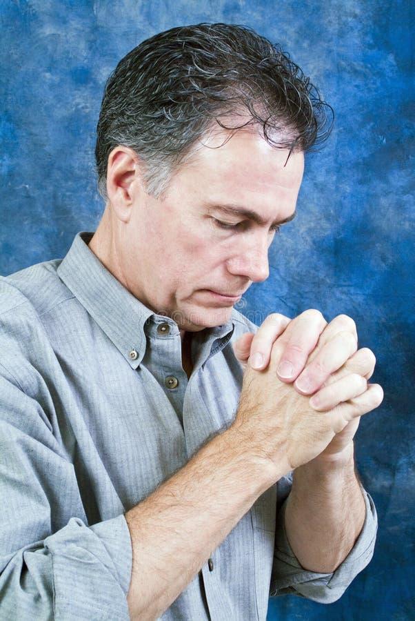 Temps de prière images libres de droits
