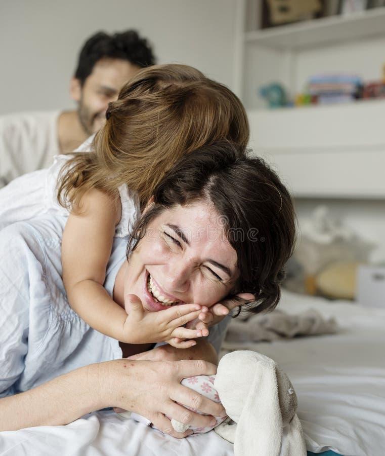 Temps de qualité de mère et de fille images stock