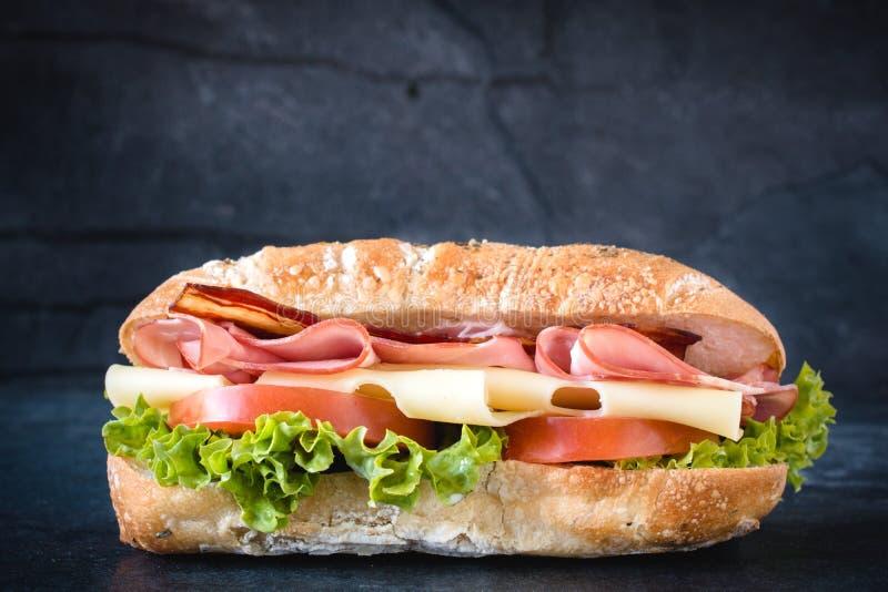 Temps de sandwich photographie stock
