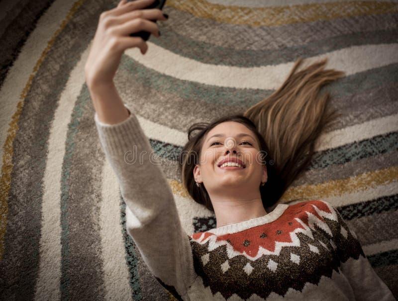 Temps de Selfie, salutations de partie ! photos stock