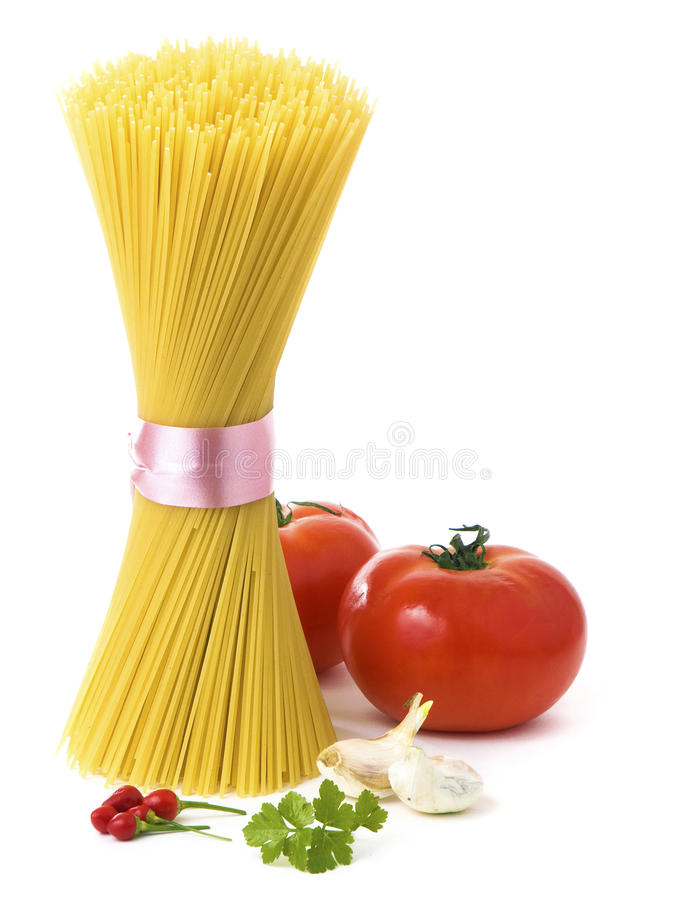 Temps de spaghetti images libres de droits