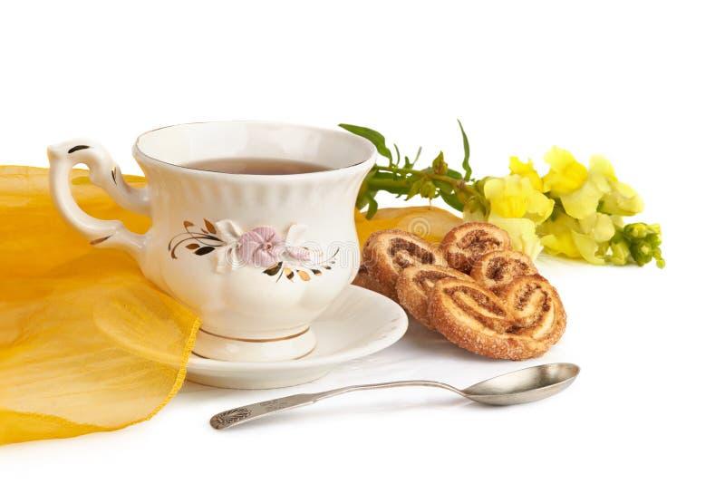 Temps de thé image stock