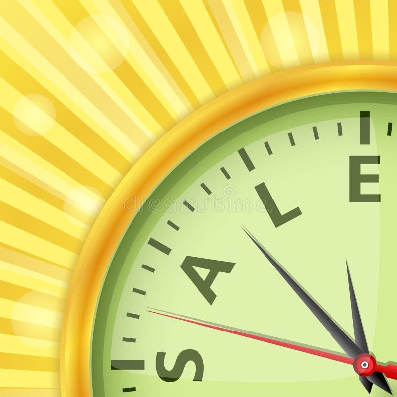 Temps de vente illustration de vecteur