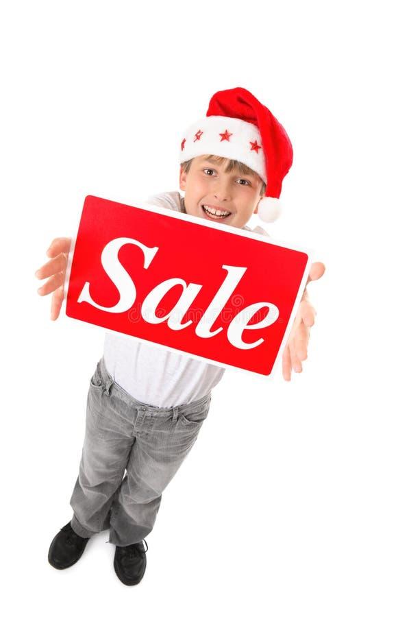 Temps de vente de Noël image libre de droits