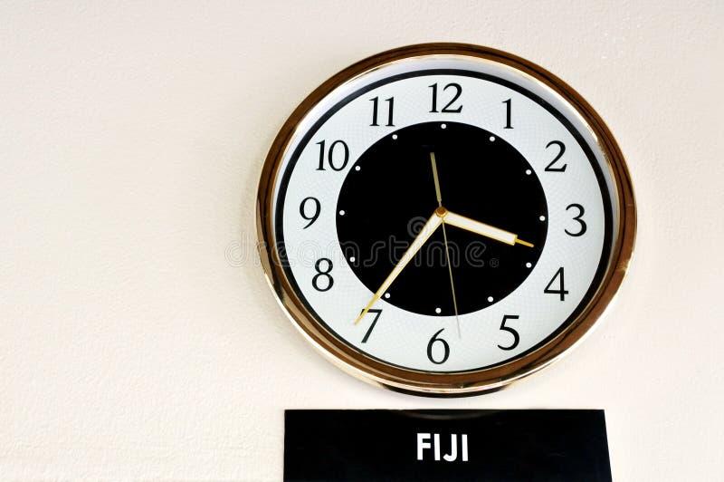 Temps des Fidji images stock