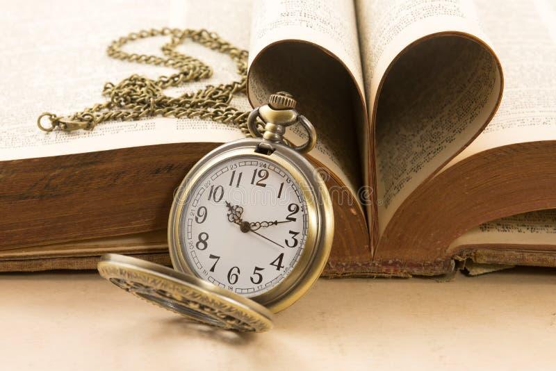 Temps et amour photos libres de droits