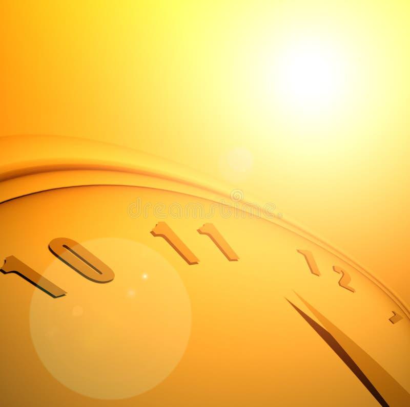 Temps et espace illustration libre de droits