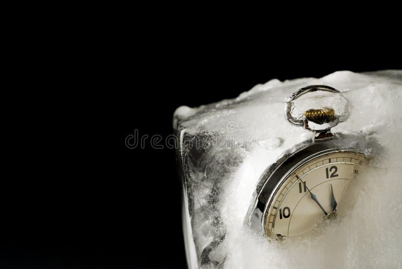 Temps gelé photographie stock libre de droits