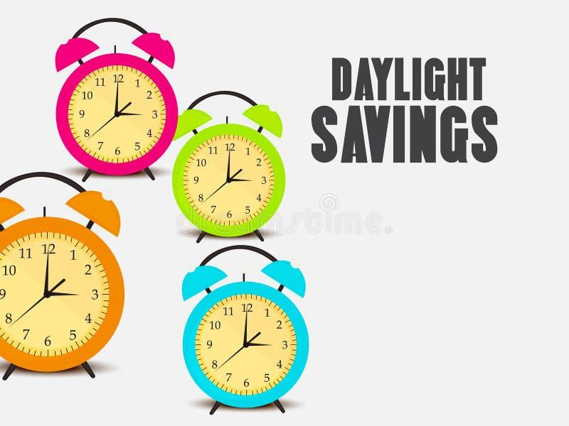 Download Temps heure d'été illustration stock. Illustration du heure - 87708869