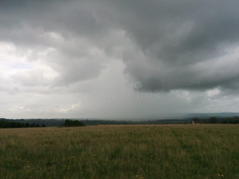 Temps orageux image stock