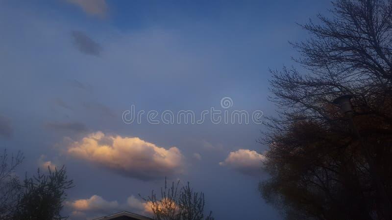 Temps orageux photographie stock