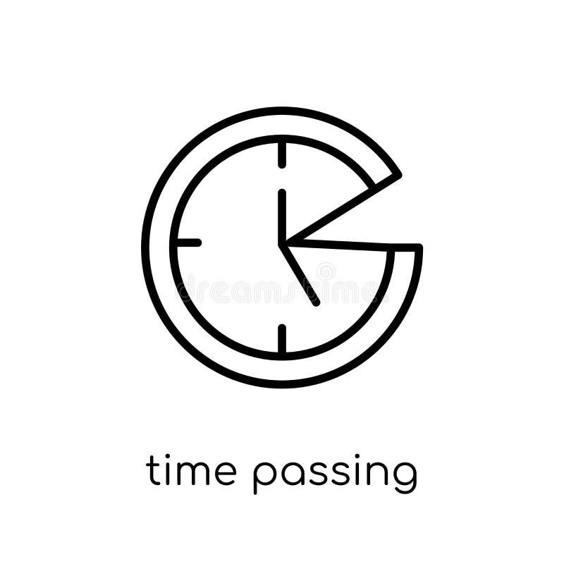 Temps passant l'icône de la collection de productivité illustration de vecteur
