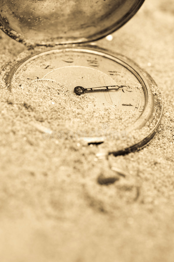 Temps perdu images libres de droits