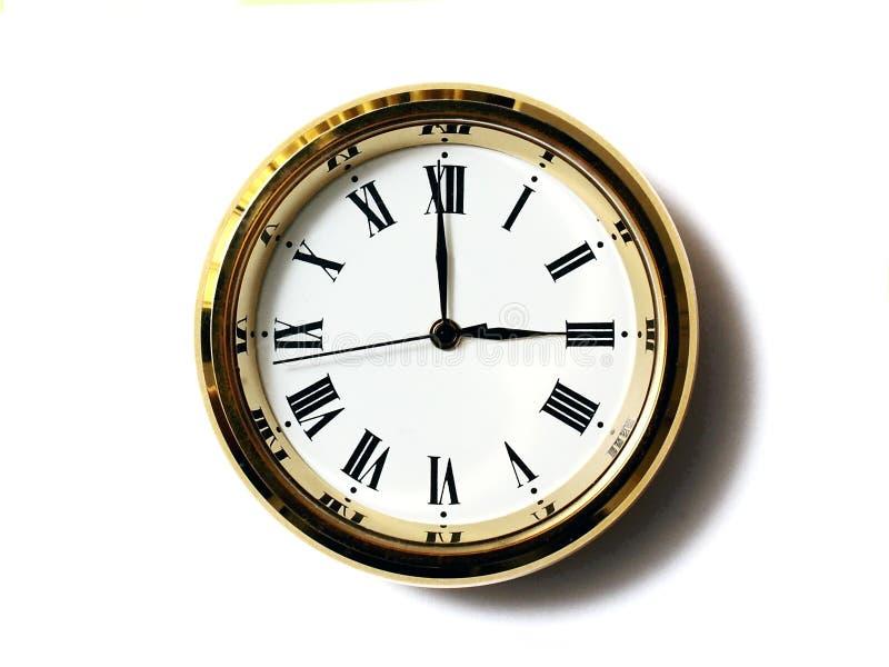 Temps, trois image libre de droits
