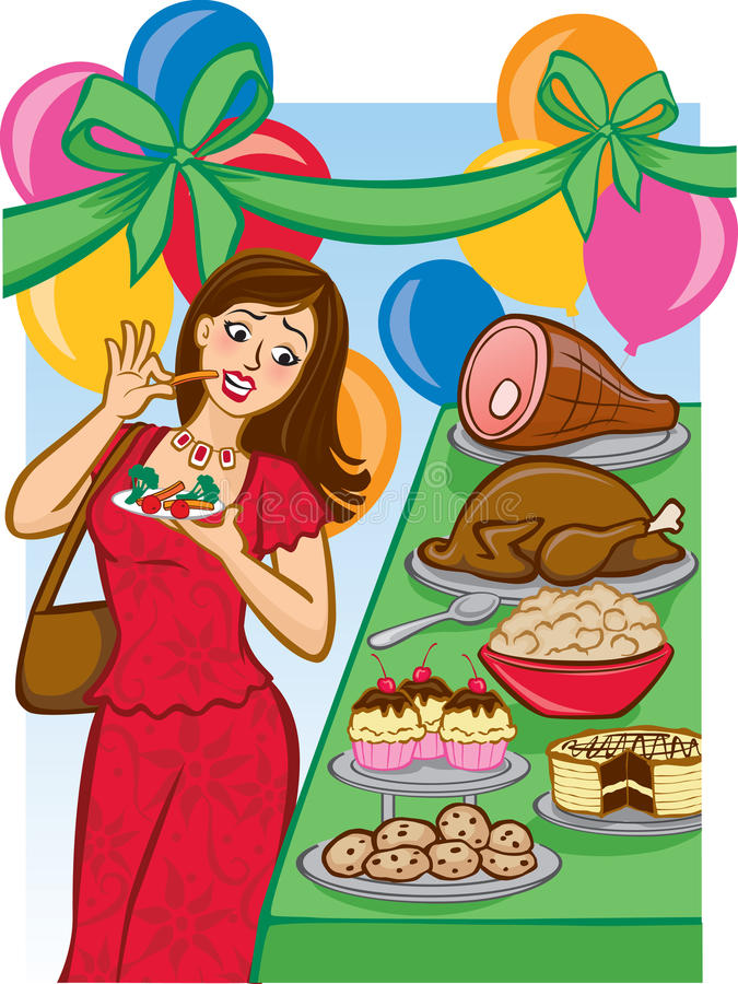 Free Tempting Holiday Buffet Royalty Free Stock Image - 16446226