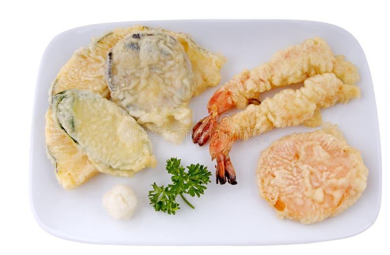 tempura закуски стоковые изображения rf