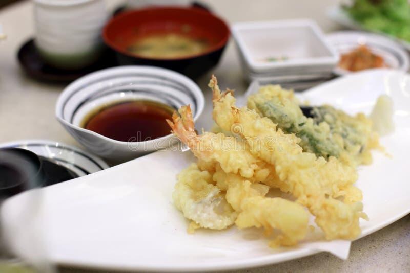 tempura fotografia stock libera da diritti