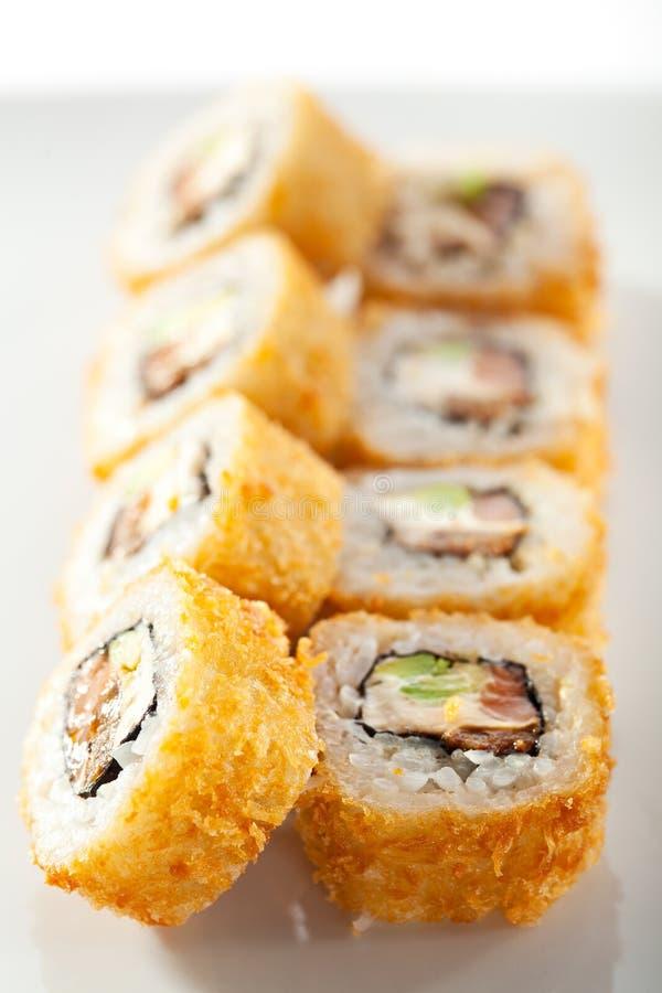 Tempura Maki Sushi stockbild